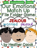Our Emotions Match Up File Folder Game