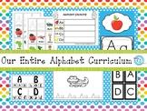 Our Entire Alphabet Curriculum Download. Preschool-Kindergarten Letters