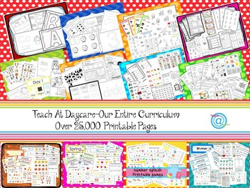 Our Entire Preschool Curriculum Download Prints over 25000 pages.