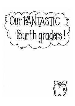 Our FANTASTIC Fourth Graders!