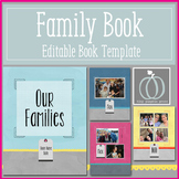 Our Families - Editable Book Template