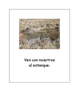 Our Family Adventure - Visits a Pond (Spanish)