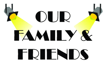 Our Family & Friends Poster Hollywood Theme