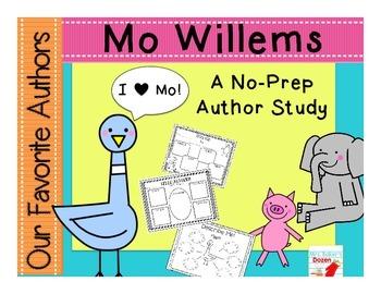 Our Favorite Authors:Meet Mo Willems a no-prep author study