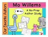 Our Favorite Authors:Meet Mo Willems a no-prep author study