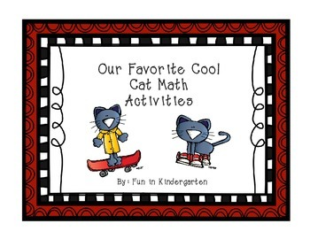 Our Favorite Cool Cat Math Activities