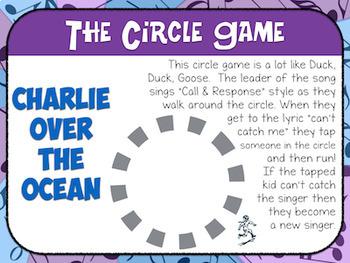 Favorite Folk Song – Charlie Over the Ocean Teacher Kit