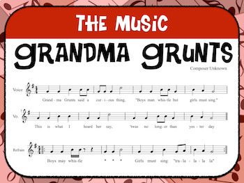 Favorite Folk Song – Grandma Grunts Teacher Kit