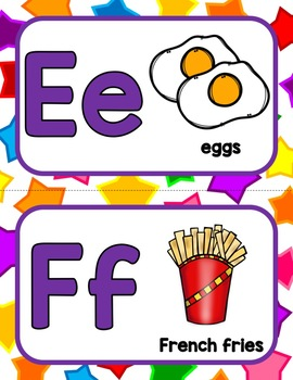 Our Favorite Foods Alphabet!