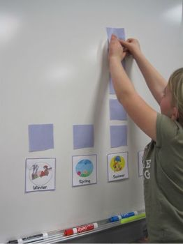 Our Favorite Season: A Classroom Graphing Activity