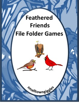 Birds Preschool, File Folder Games, Special Education, Summer School
