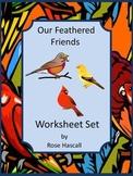 Birds Preschool, Spring Activities, Cut and Paste Activities,Special Education