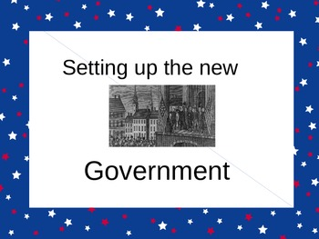 Our First Government