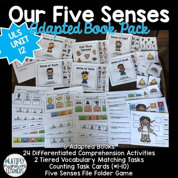 Our Five Senses Adapted Book Pack