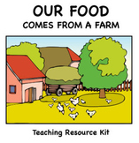 Our Food Comes From a Farm Lessons