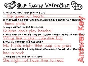 Our Funny Valentine {book companion}