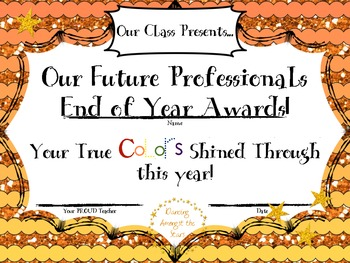Our Future Professionals End of Year Awards!