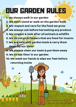 Our Garden Rules