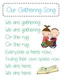 Our Gathering Song (Kindergarten Lucy Calkins Readers Workshop)