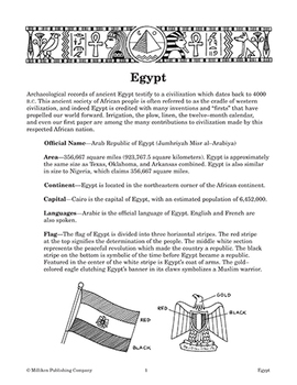 Our Global Village - Egypt