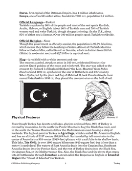 Our Global Village - Turkey