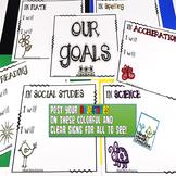 Classroom Goals Bulletin Board