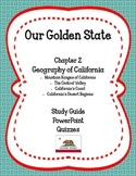 Our Golden State: Chapter 2 - Geography of California MEGA PACK