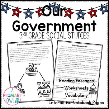 Our Government: 3rd Grade Georgia Social Studies Unit