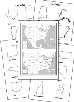 Our Great 50 States - Complete Notebooking & Project Unit