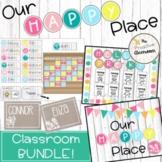 Our Happy Place Classroom Decor Bundle