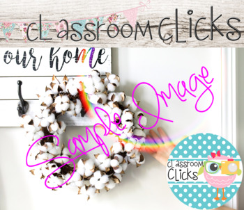 Our Home Cotton Wreath Image_336:Hi Res Images for Bloggers&Teacherpreneurs