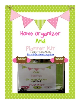 Our Home Organizer and Planner Kit