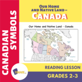 Our Home and Native Land Canada Reading Lesson Plan Gr 2-3
