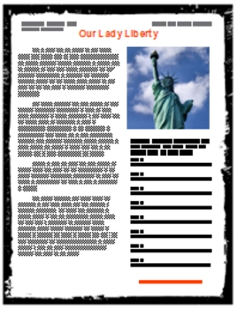 Our Lady Liberty  Podcast Classroom Package