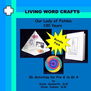 Our Lady of Fatima 100 yrs. Bundle for Pre-K to Gr. 4