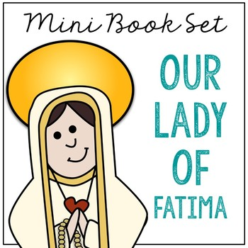 Our Lady of Fatima Biography Mini Book in 3 Formats, Catholic Saints Resource