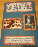 Our Lady of Fatima Double Faith Folder