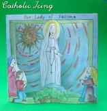 Our Lady of Fatima Printable Diorama Craft