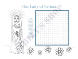 Saints Our Lady of Fatima Word Search