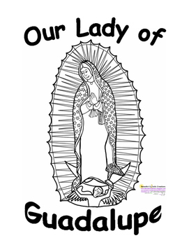 Our Lady of Guadalupe Prayers and Handwriting/Notebooking pages