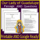Our Lady of Guadalupe Passage and Questions - Printable AN