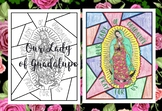 Our Lady of Guadalupe Stained Glass