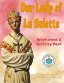 Our Lady of La Salette Worksheet and Activity Pack