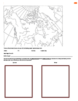 Canada - Our Land and People Activity Booklet - Chpt. 4 (The Interior Plains)