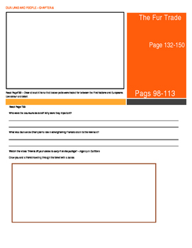 Canada - Our Land and People Activity Booklet - Chpt. 8 (The Fur Trade)