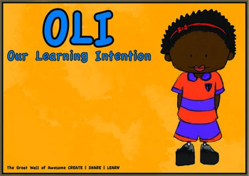 Our Learning Intention Resource