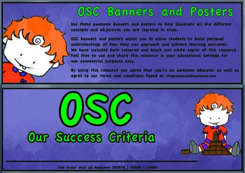 Our Success Criteria Resource