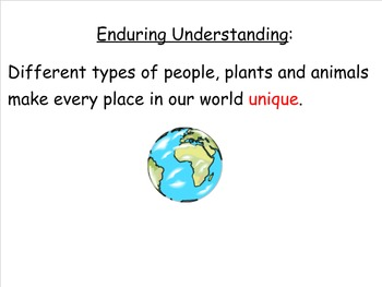 Our Living World Theme and Vocabulary Introduction