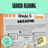 Shared Reading on Respiratory System: Ontario Curriculum