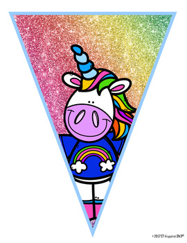 Our Magical Class Unicorn Banner